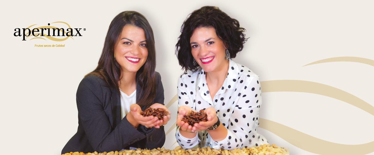 Tanya y Laura cacahuetes