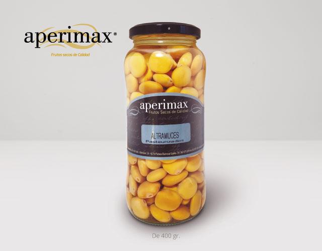 Envase cristal Altramuces | Aperimax, frutos secos de calidad