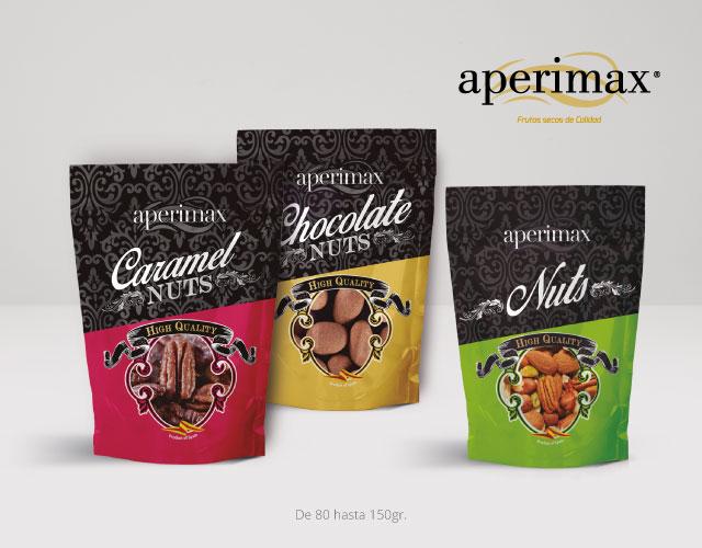Envase bolsa supermercados | Aperimax, frutos secos de calidad