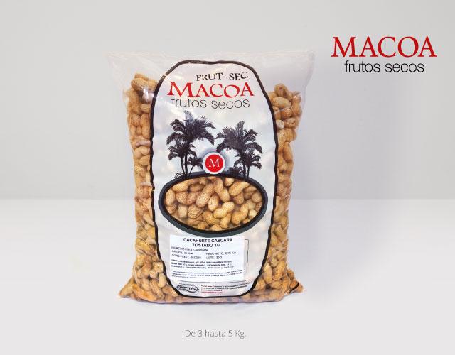 Envase bolsa Macoa | Aperimax, frutos secos de calidad