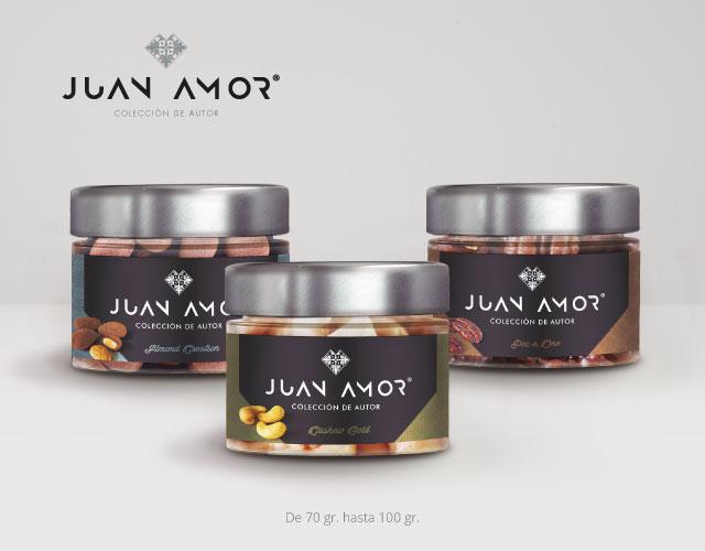 Envase cristal Juan Amor | Aperimax, frutos secos de calidad