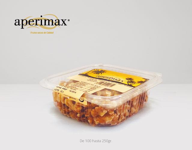 Envase tarrina plastico bisagra | Aperimax, frutos secos de calidad