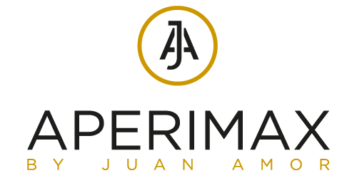 Aperimax by Juan Amor logo nuevo vert